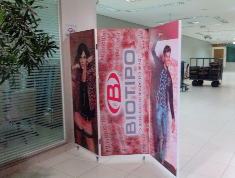 Banner para Merchandising em Águas da Prata - Material Visual para Merchandising