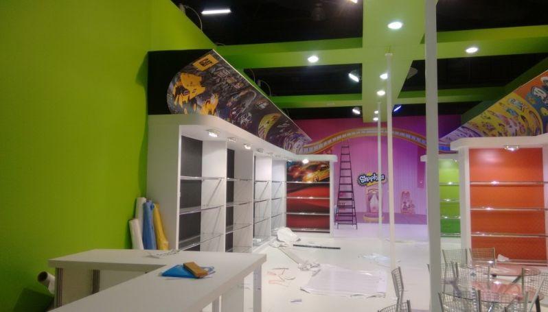 Empresa de Comunicação Visual e Design de Interiores em Conchas - Design de Interiores para Stands na Vila Guilherme
