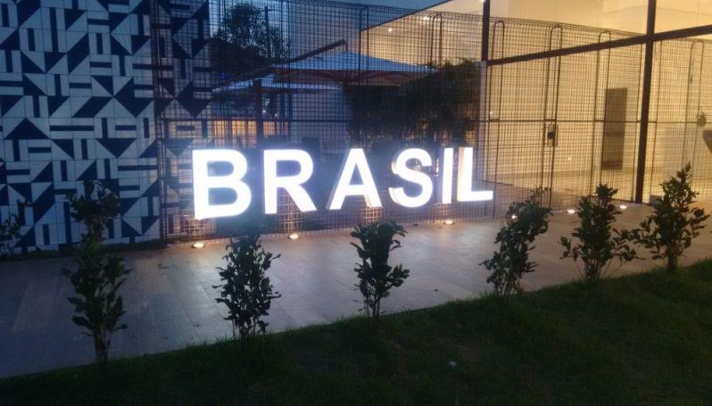 Letra Caixa para Fachadas no Parque São Rafael - Letras Caixa para Comunicação Visual