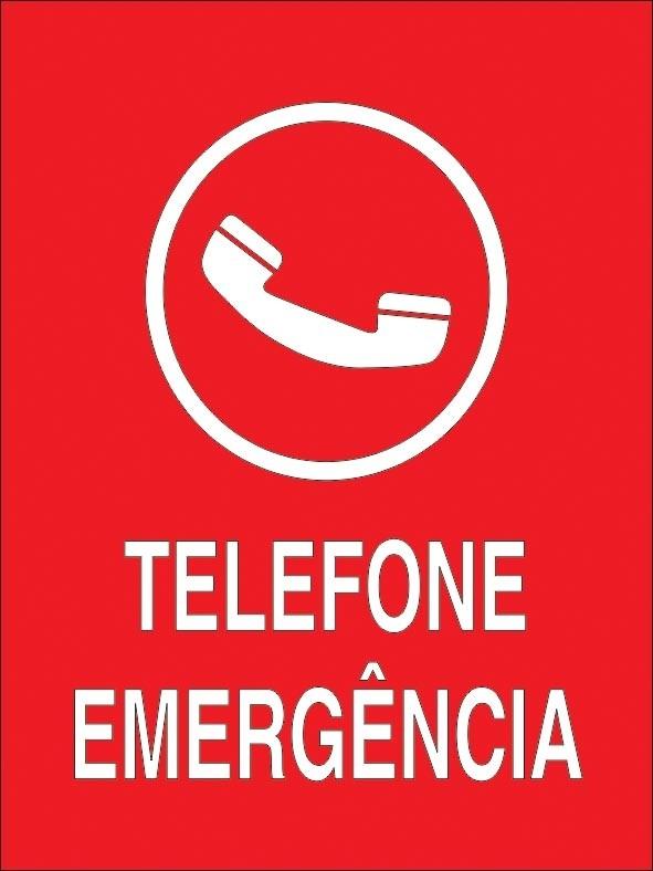 Placas de Sinalização de Emergência Preço no Centro - Placas Personalizadas para Empresas