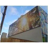 criação de fachada em acm em Bauru