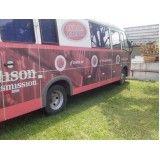 envelopamento para ônibus em Campos do Jordão