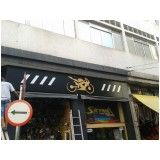 placa de acm para fachada comercial em Itanhaém