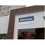 placa de acrílico para fachada preço em Lençóis Paulista