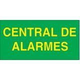 placa de sinalização em alumínio em Piracicaba