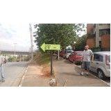 quanto custa placas de sinalização em sp no Pacaembu